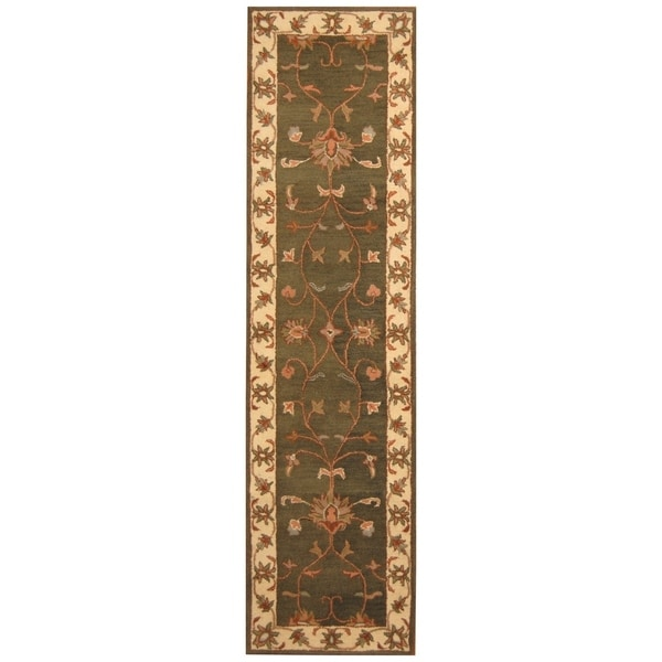 Handmade Mimana Wool Kilim (India) - 3'2 x 4'11