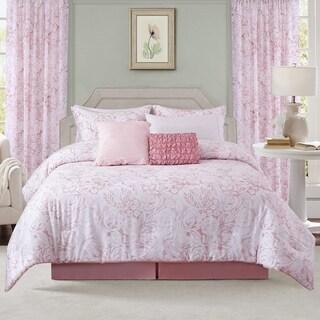 Sara B. Blushing Rose Comforter Set