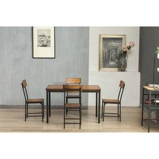 Boraam Americano 5 Piece Wood/ Metal Dining Set