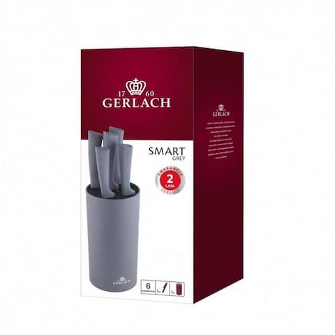 GERLACH SMART GREY Set of 5 knives in a block