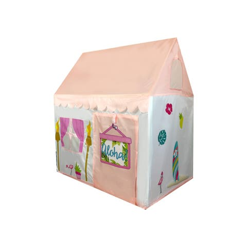 Aloha Summer Girls Pink Playhouse - Design your own with Stickers
