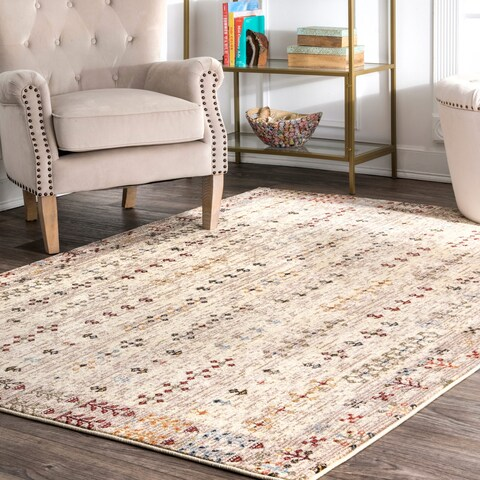 Copper Grove Waregem Tribal Melange Cross Area Rug
