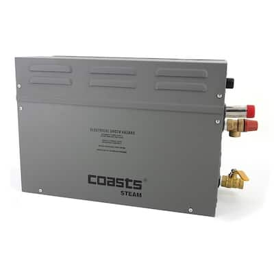 Coasts Steam Generator for Steam Saunas 3KW 240V with Controller