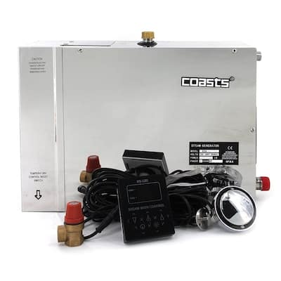 Coasts Steam Generator for Steam Saunas 6KW 240V with Controller