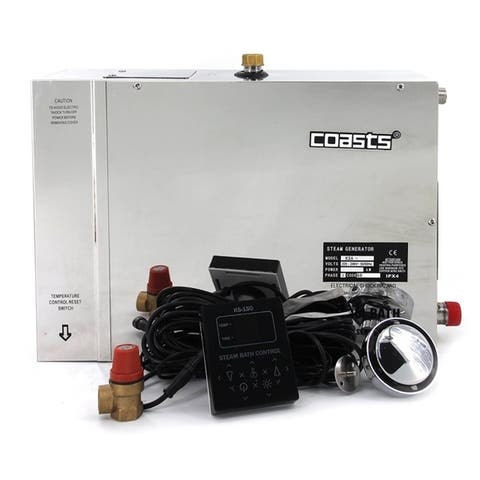 Coasts Steam Generator for Steam Saunas 12KW 240V with Controller
