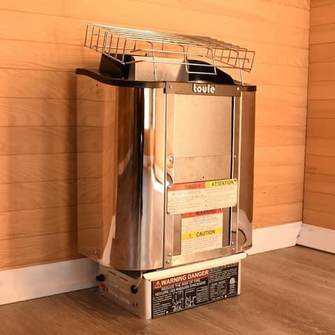 Toule Sauna Heater ETL Cetified 4.5KW/240V with digital Cotnrol Panel