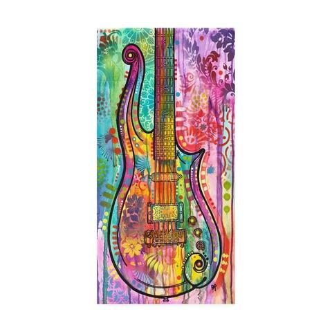 Dean Russo 'Prince Cloud Guitar' Canvas Art
