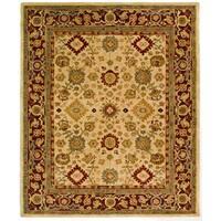 Safavieh Handmade Anatolia Oriental Heirloom Ivory Hand-spun Wool Rug - 6' x 9'