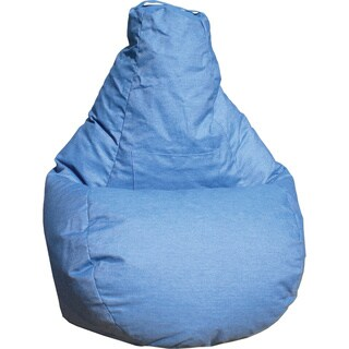 Gold Medal Dorm Seat and Back Style Bean Bag