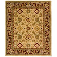 Safavieh Handmade Anatolia Oriental Heirloom Ivory Hand-spun Wool Rug - 8' x 10'