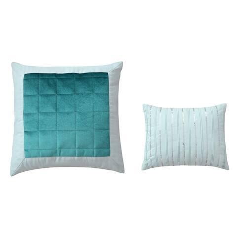 Sara B. Eucalyptus Throw Pillow Set