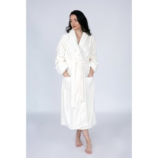 Chic Home Nougat Robe Cozy Ultra Plush Faux Fur Fleece Sherpa Trim
