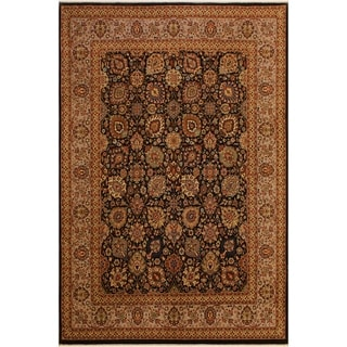 Istanbul Colleen Brown/Tan Wool Rug (8'1 x 10'0) - 8 ft. 1 in. x 10 ft. 0 in.