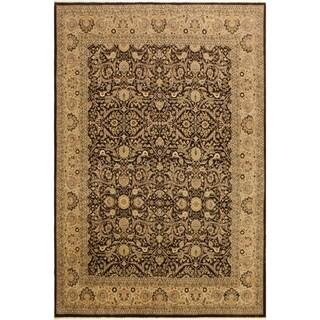 Istanbul Joy Brown/Tan Wool Rug (8'2 x 9'9) - 8 ft. 2 in. x 9 ft. 9 in.
