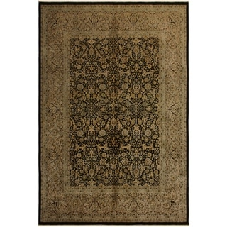 Istanbul Donnette Brown/Tan Wool Rug (8'2 x 10'0) - 8 ft. 2 in. x 10 ft. 0 in.