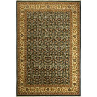 Istanbul Vannesa Lt. Blue/Ivory Wool Rug (10'3 x 14'1) - 10 ft. 3 in. x 14 ft. 1 in.