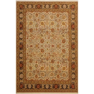 Istanbul Shavon Lt. Gray/Brown Wool Rug (8'2 x 10'7) - 8 ft. 2 in. x 10 ft. 7 in.