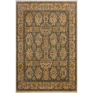 Istanbul Mae Lt. Gray/Lt. Gray Wool Rug (8'2 x 10'1) - 8 ft. 2 in. x 10 ft. 1 in.