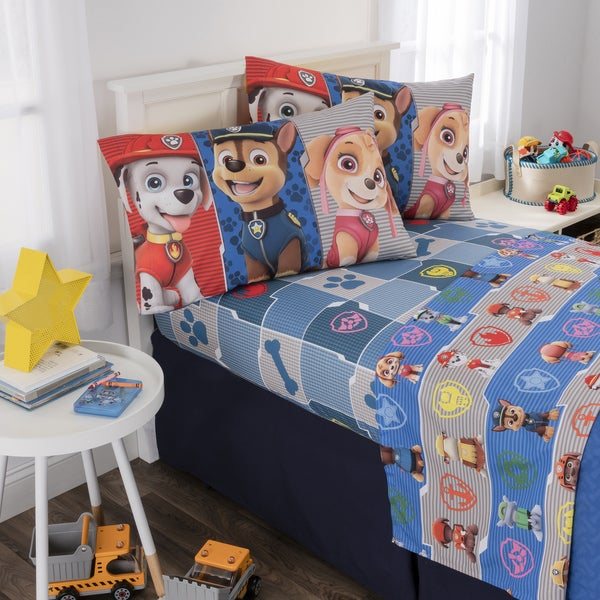 Paw Patrol Pups Save The Day Comforter Twin Bedding Bedroom Cover Bed