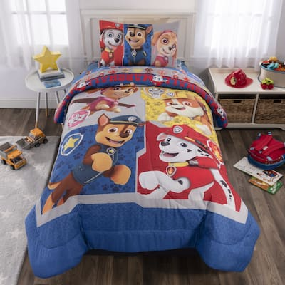 """Paw Patrol """"Gangs All Here"""" Bed In A Bag - Blue"""