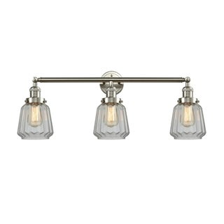 Innovations Lighting Chatham Brass and Glass 3-light Adjustable LED Sconce