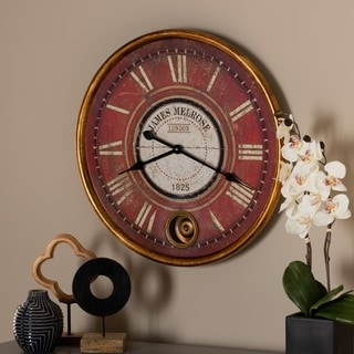 Shop Thatcher Vintage Fan Clock Free Shipping Today