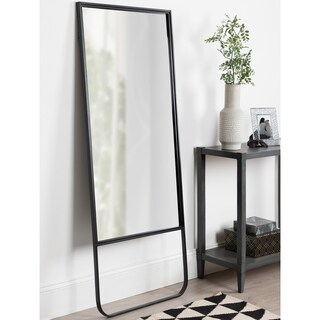 Carbon Loft Harith Black Wall or Leaner Mirror