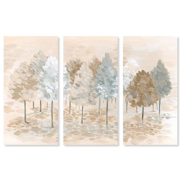 RIVER GREEN PINE FOREST ROCKS CANVAS WALL ART PRINT PICTURE READY TO HANG