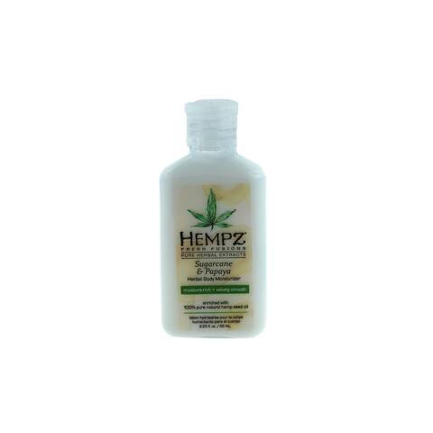 Hempz Sugar Cane & Papaya 2.25-ounce Herbal Body Moisturizer