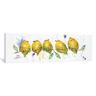 "iCanvas ""Lemon Birds"" by Dean Crouser"