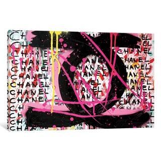 """iCanvas """"Urban Chanel"""" by Mercedes Lagunas"""