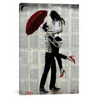 "iCanvas ""Love Rain"" by Loui Jover"