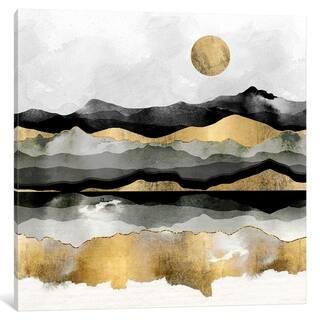 "iCanvas ""Golden Spring Moon"" by SpaceFrog Designs"