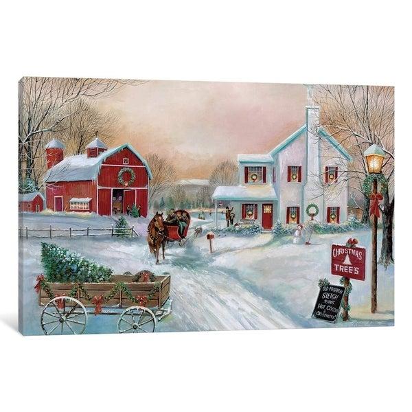 "Manning Farm Dairy Home: Shop ICanvas ""Christmas Tree Farm"" By Ruane Manning"
