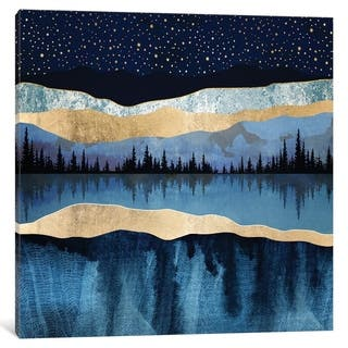 """iCanvas """"Midnight Lake"""" by SpaceFrog Designs"""