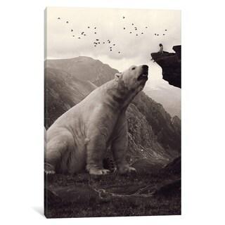 "iCanvas ""Tutelary - Polar Bear"" by Soaring Anchor Designs"