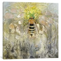 """iCanvas """"Bee"""" by Stephanie Law"""