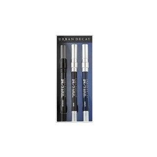 Urban Decay Triple Threat 3-piece Travel Pencil Set Smoky Matte Edition