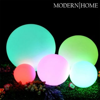 Link to Modern Home LED Glowing Sphere w/Infrared Remote Control Similar Items in Outdoor Decor