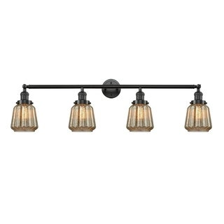 Innovations Lighting Chatham Brass/Glass 4-light Dimmable Adjustable Sconce