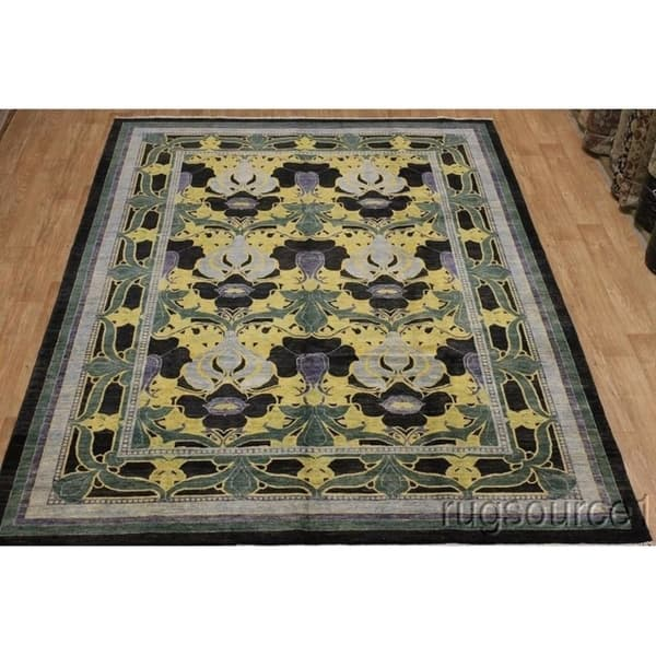 Mission Style Art And Craft Oriental Area Rug Handmade