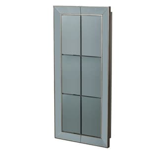 Vintage Glamour Antique Silver Wall Mirror, 30x8.5x65 inches - A