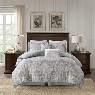 Link to Harbor House Hallie 6 Piece Queen Size Cotton Comforter Set (As Is Item) Similar Items in As Is