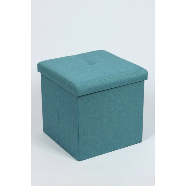 Stupendous Shop Harlingen Square Folding Storage Ottoman Free Ibusinesslaw Wood Chair Design Ideas Ibusinesslaworg
