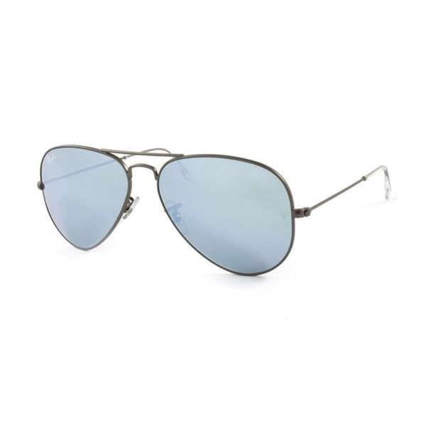 2b6ea4cfef Shop Ray-Ban RB3025 Aviator Large Metal Unisex Sunglasses - Gunmetal - Free  Shipping Today - Overstock - 25657215