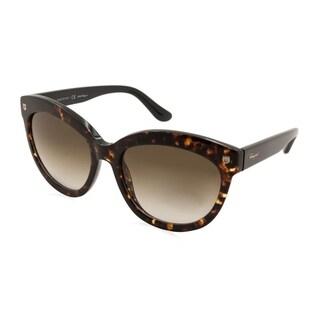 Ferragamo SF675S Women Sunglasses - Brown