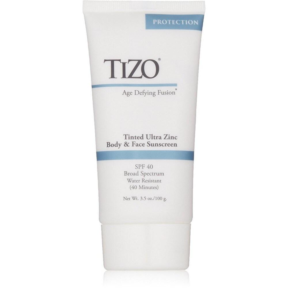 Tizo Age Defying Fusion tinted Ultra Zinc Body & Face Sunscreen SPF 40 3.5 Oz (Body Sunscreen)
