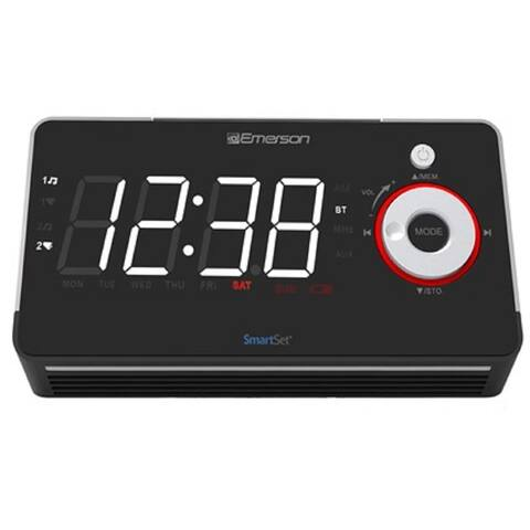 Emerson SmartSet ER100113 Clock Radio