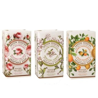 Panier Des Sens Essentials Collection Vegetable Soap Rose, Verbena, Provence