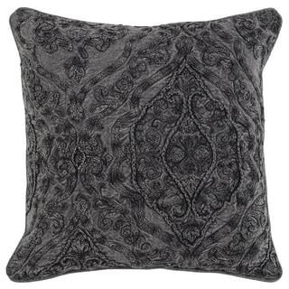 The Gray Barn Windy Oaks Embroidered 20-inch Throw Pillow